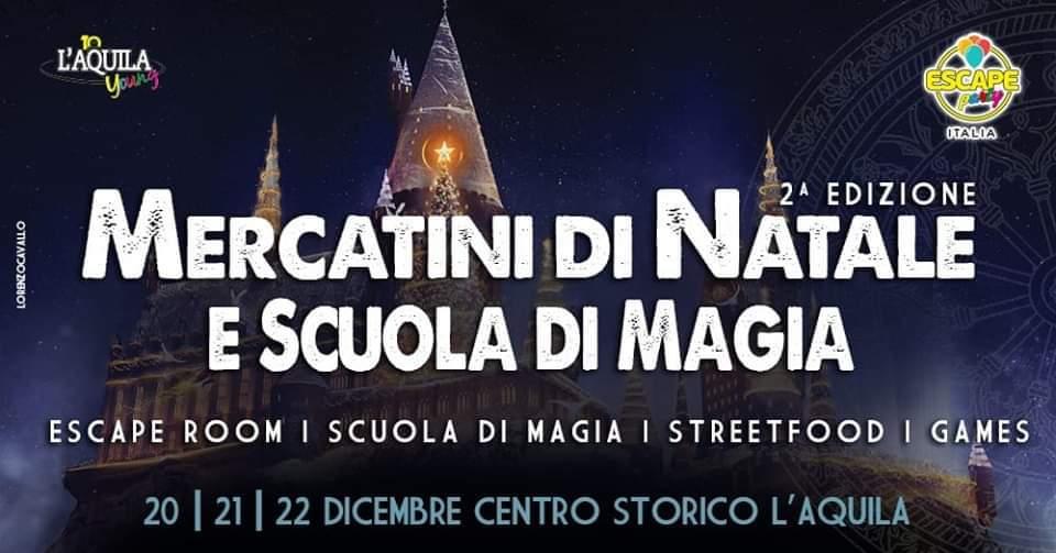 Mercatini di Natale – L'Aquila 21 Dicembre 2019